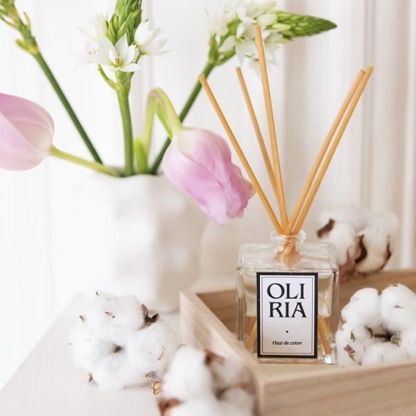 recharge diffuseur fleur de coton