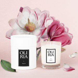 bougie parfumée magnolia